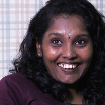 Cervical cancer survivor: Nanthini Tanabal