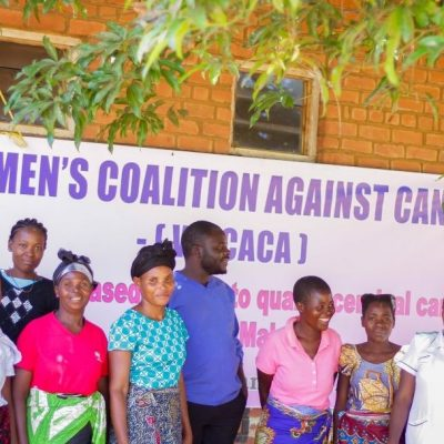 A commitment from women is helping to eliminate cervical cancer in Malawi